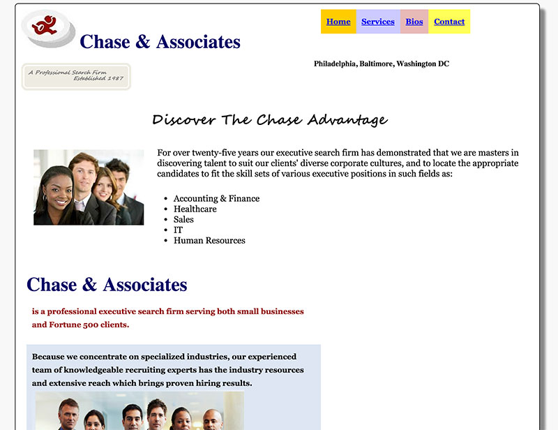 Chase Search Firm