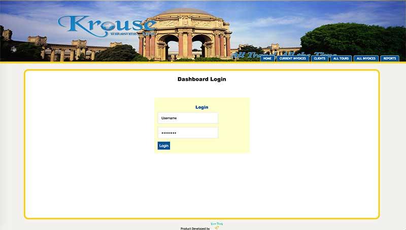 Krouse Travel - Custom Travel Software