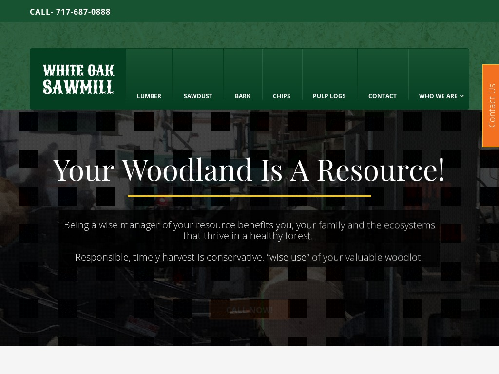 White Oak Sawmill - Lancaster County